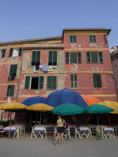 Bar Colors Holiday Italy Pattern Restaurant Seaside Summer Umbrella Umbrellas
