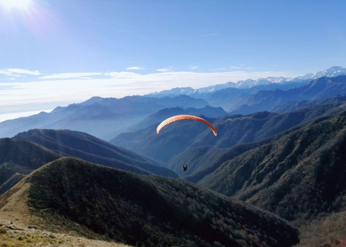 Parapente Mountain Escape Paragliding