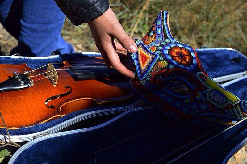 Dejemos que el silencio invada el mundo... Mexico Coyotes  Violin Silencio