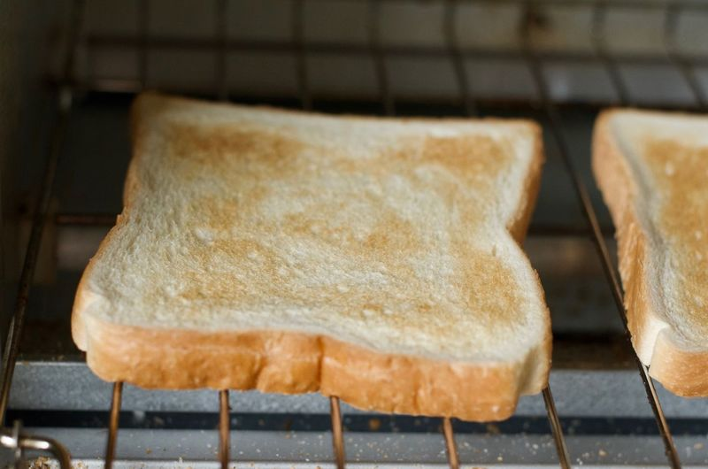 Toast. Toasted