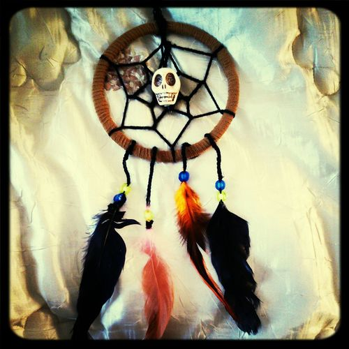 love it :3 a gift from friendoo Dreamcatcher Handmade Mlc.handmade Accessory