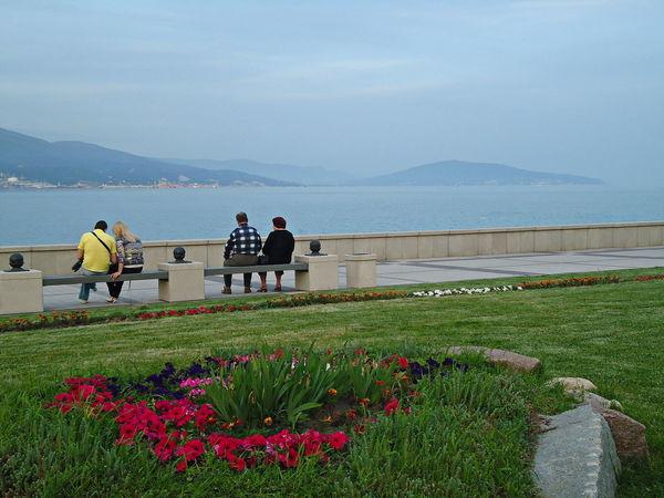 Набережная Адмирала Серебрякова. City Colors Evening Lawn Novorossiysk Quay Russia Seafront Selfie Tranquil Days Tranquil Live Tranquil Scene Tranquility The Street Photographer - 2016 EyeEm Awards