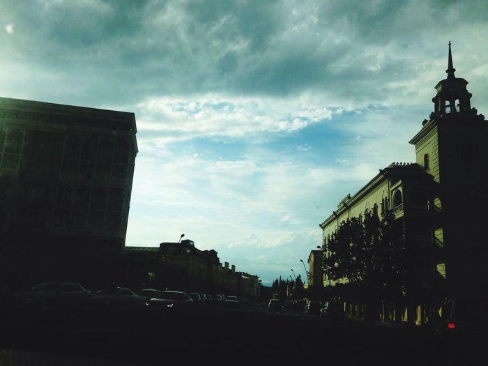 Architecture City Cloud - Sky Day Georgia Telavicity