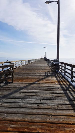 Avila Beach California Boardwalk Boardwalk Ocean Avila Beach CA Ocean Sea Beach Water Sky Cloud - Sky Pier