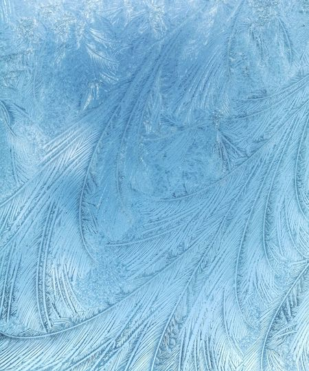 Ice flowers on my car window this morning Ice Ice Crystals Cold Blue Textured  No People Close-up Art Is Everywhere Break The Mold The Great Outdoors - 2017 EyeEm Awards Perspectives On Nature Textured Effect