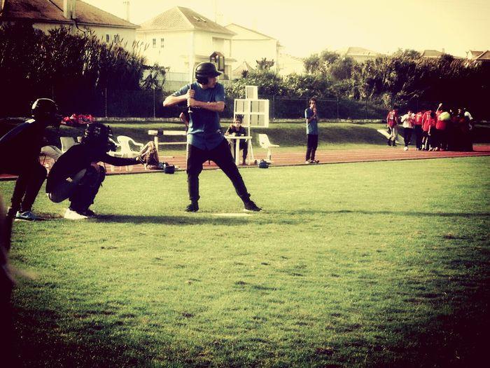 Baseball Game Baseball ⚾ Player Batting Catcher Momentum Photography Sunny Day That Moment Taking Photos Good Day Check This Out Taking Photos While Waiting My Turn