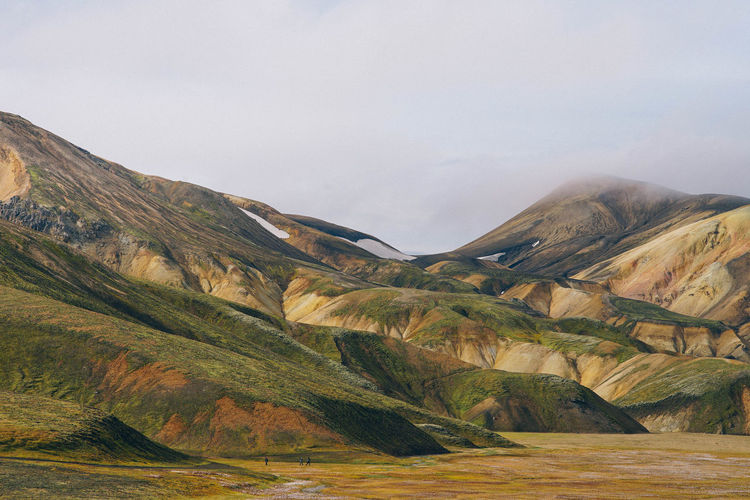 Landscape Background Environment Landscape Scenics - Nature Mountain No People Day Nature Land Sky Beauty In Nature Mountain Range Tranquil Scene Tranquility Outdoors Valley Wilderness Non-urban Scene Travel Destinations Copy Space Rolling Landscape Mountain Peak Exotic Iceland