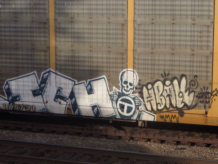 ICH Ich Ichabod Railart Graffiti