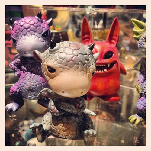 Littledragons Innerdemon Figure Figurine  toughguy crossedarms handsonhip millenium millenium_hawaii oahu hawaii aiea pearlcity pearlridge