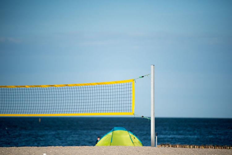 Absence Beach Beach Volleyball Beauty In Nature Blue Day Goal Post Hoffi99 Horizon Over Water Nature Net - Sports Equipment No People North Sea Beach North Sea Coast North Sea Region Northsea Outdoors Sand Schillig Sea Sky Sport Tennis Water Live For The Story