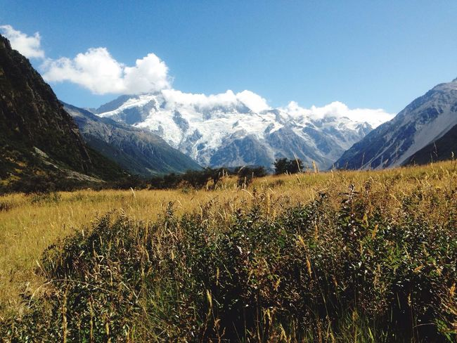 Magnificent Mountains Enjoying Life Hello World Taking Photos Rural Scenes Super Skyline Countryside Nature In All Its Glory At The End Of The World Panoramic View Mount Cook, South Island, New Zealand