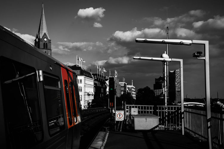 Hamburg Tram by www.eightTWOeightSIX.de Transportation Architecture City Outdoors Urban Urban Geometry Urban Landscape Urban Lifestyle The Way Forward Urban Skyline City Life No People Tram Underground Underground Station  Station Landungsbrücken  Hamburg Hamburgcity Hamburg Harbor Blackandwhite Black And White Black & White Buildings Germany Adapted To The City Welcome To Black Be. Ready. Black And White Friday Mobility In Mega Cities Adventures In The City