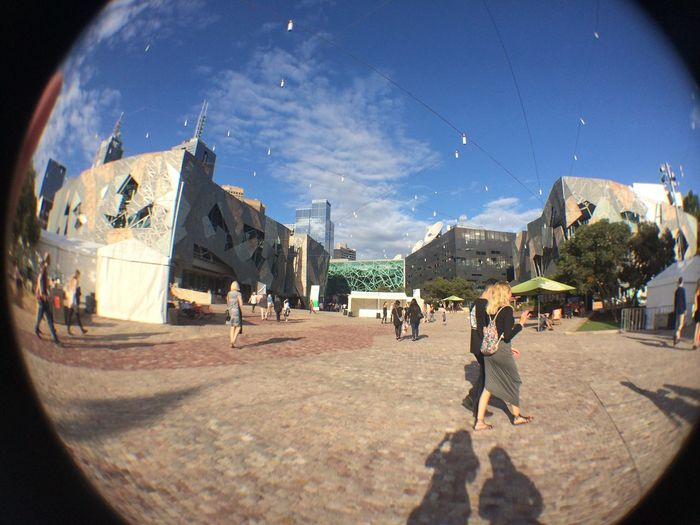 CITY LIFE Architecture Building Exterior City City Life Day Fish-eye Lens Outdoors People Real People