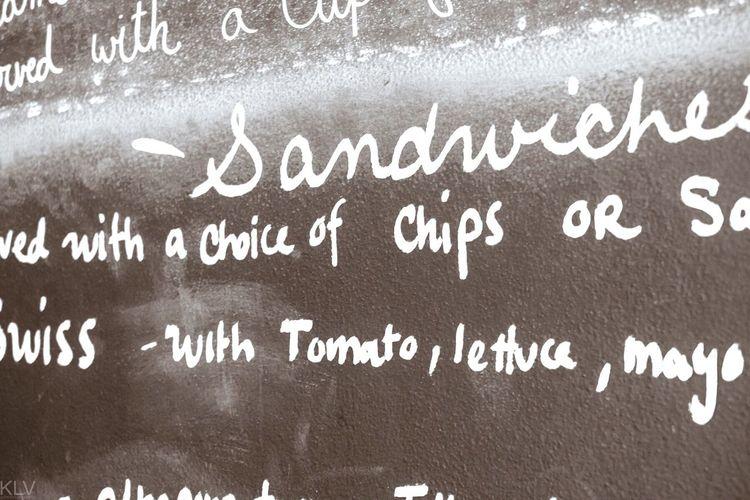 Menu board Chalk Chalkboard Menu Sandwich Lunch Cafe
