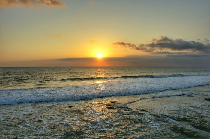 Sunset Bali Bali, Indonesia Sunset Beach Sun Sunset Beach Sea Sun Scenics Nature Water Sky Horizon Over Water Landscape Beauty In Nature Dramatic Sky Travel Destinations