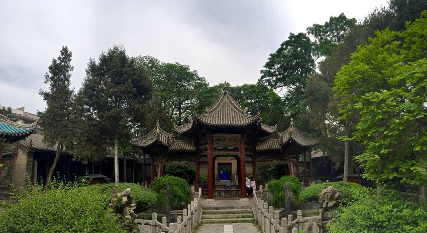 Ancient Architecture Beauty In Nature Built Structure Chinese Cloud Cloud - Sky Day Green Green Color Growth History Islamic Lush Foliage Mosque Nature No People Outdoors Plant Scenics Sky Temple Tranquil Scene Tranquility Tree