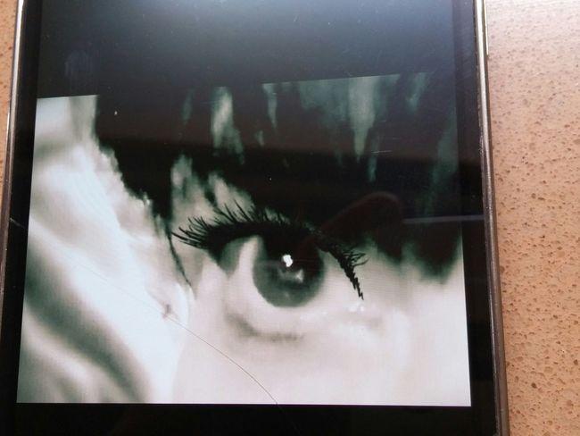 Behind The Lens Human Eye Close-up ... Mine😉. Eye See You!  Eyeforphotography Eyeforblackandwhite Eyeforbeauty My Eye Iris - Eye Illuminated AMPt - My Perspective Focused Frame Within A Frame