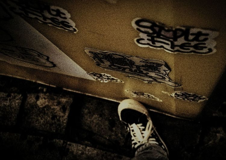 Warking Around From My Point Of View City Night Photography Nightphotography Foot Vans Particle Traffic Jam Wall Art Lost Full Frame Textured  Close-up FootPrint Drawn Fabric Woolen Tire Track