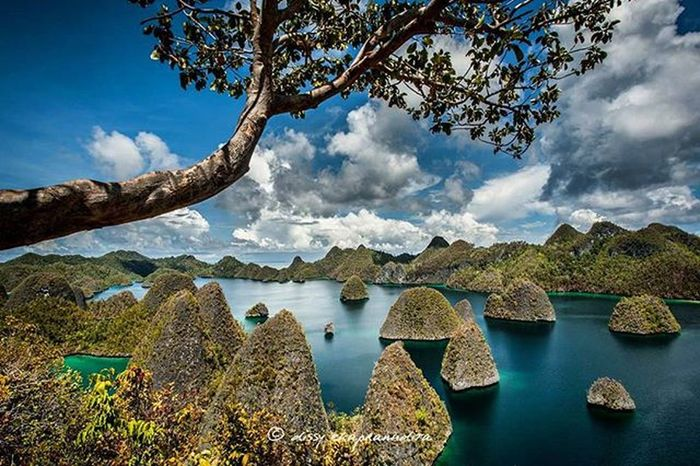 Paradise called wayag Rajaampat Wayag Papua INDONESIA 1000kata BeautifulIndonesia Wonderfulindonesia Indonesiaplayground Nationalgeographic Asiangeographic Instalike Instagram Instagood Photooftheday