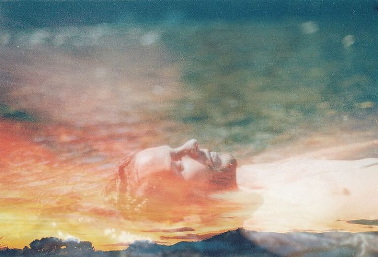 Portrait River Sunset Nature Water Outdoors No People Power In Nature Sky Day First Eyeem Photo Kodak Portra Nikon Film Photography Grain Analogue Photography Argentic sauveterre-de-béarn Double Exposure Nature Beauty In Nature Place Of Worship Sunlight