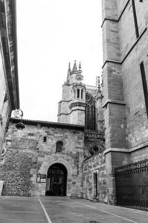 Catedral de León. LeonEsp  Streetphotography Arquitecture Arquitectura Blackandwite Blancoynegro Monochrome Blackandwhite Gotico Catedral
