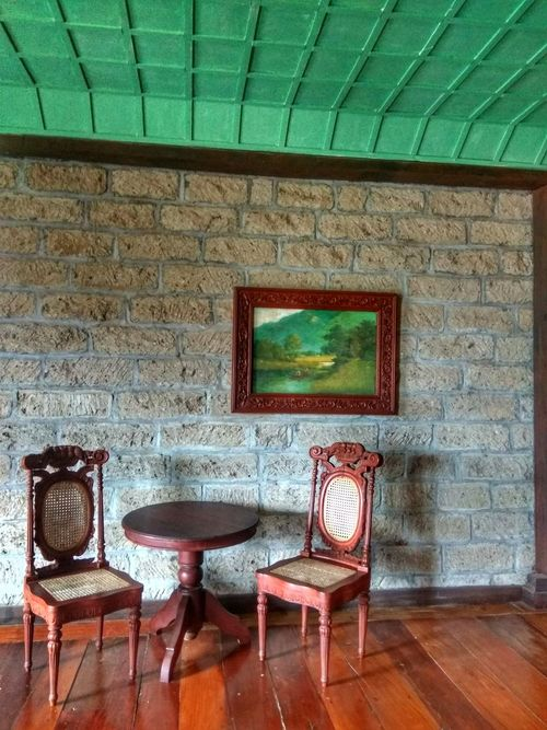Built Structure No People Architecture Chair Indoors  Day Oldhouses Bataan Philippines Lascasasfilipinasdeacuzar Old-fashioned Travelphotography Heritage Site