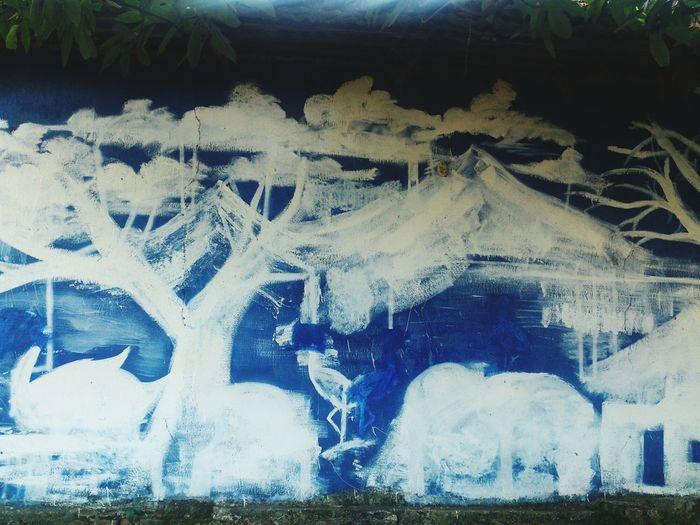 Mural en calle de El Salvador Streetphotography Wall Art