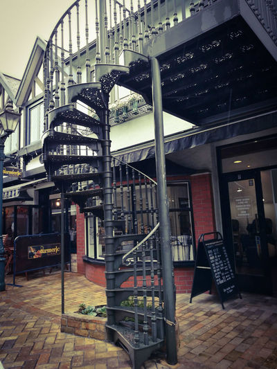 Staircase Architecture Steps And Staircases Railing Archival Spiral Staircase No People Day Quality Street In Whangarei New Zealand The City Light Art Is Everywhere
