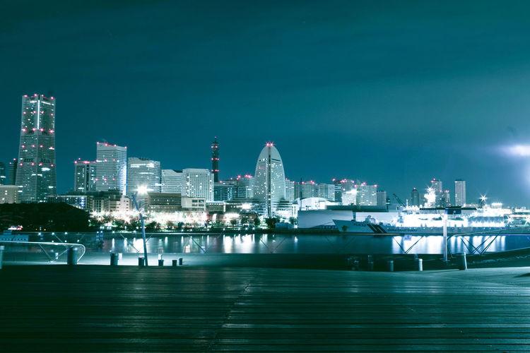 大さん橋から Yokohama