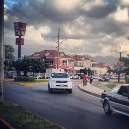 The world's biggest and most lucrative KFC is located in Montego Bay Jamaica!