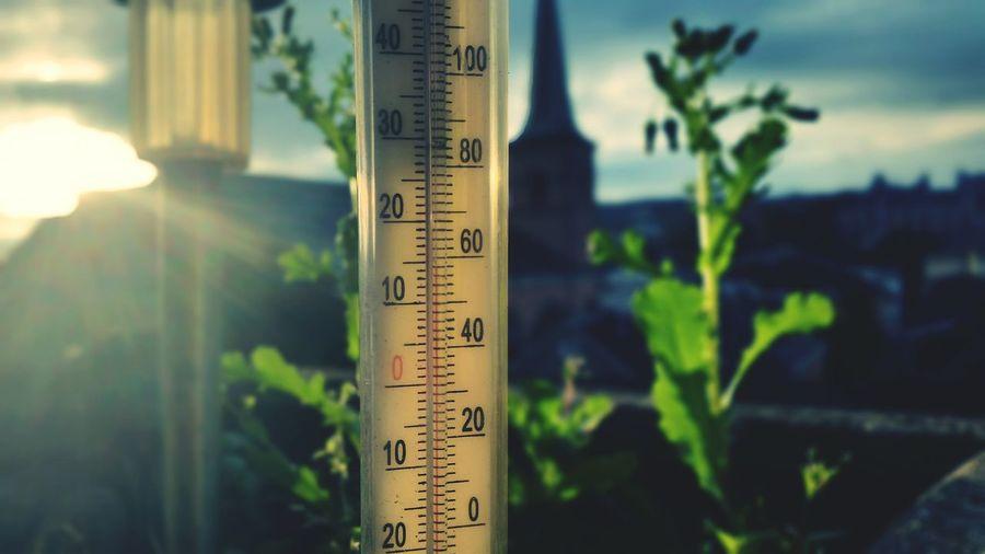 """Good mornin' autumn"" - OmegatainmentAutumn Fall Herbst Good Morning Sunset Sonnenaufgang Barometer"