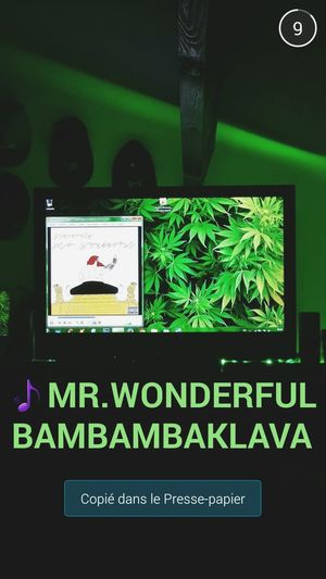 Green Vision Smokeweedeveryday ActinCrazy Bambambaklava Smoky Irie ActionBronson Greenlight Gandja Mr.Wonderful