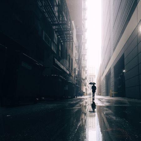 Rainy Days Rain Umbrella Reflection Streetphotography Silhouette Chicago IPhoneography Urban City The Street Photographer - 2016 EyeEm Awards
