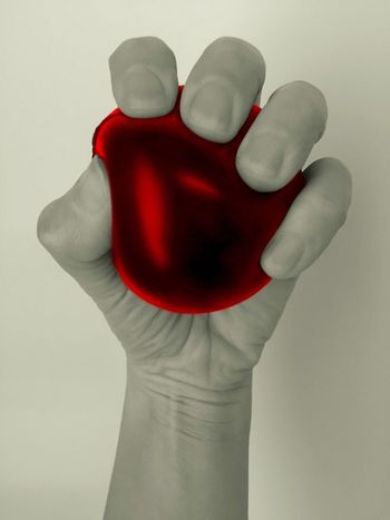 Stress Ball Stress Stressreliever Stress Reliever Red Abstract Getting Creative Hand Stressed Out... Red Ball