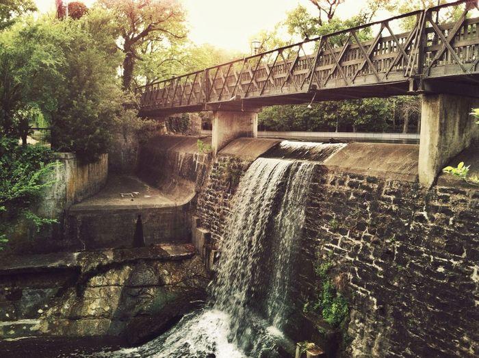 The Explorer - 2014 EyeEm Awards Bridges Waterfall Dallas