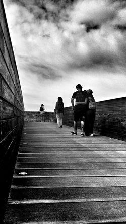 Monochrome Enjoying Life Walking Taking Photos