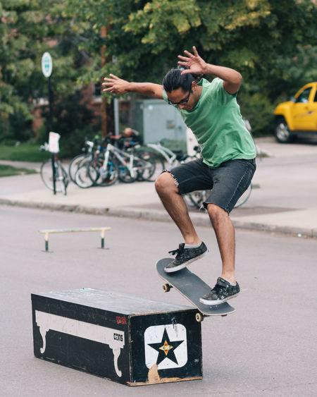 Skateboarding Color Portrait VSCO