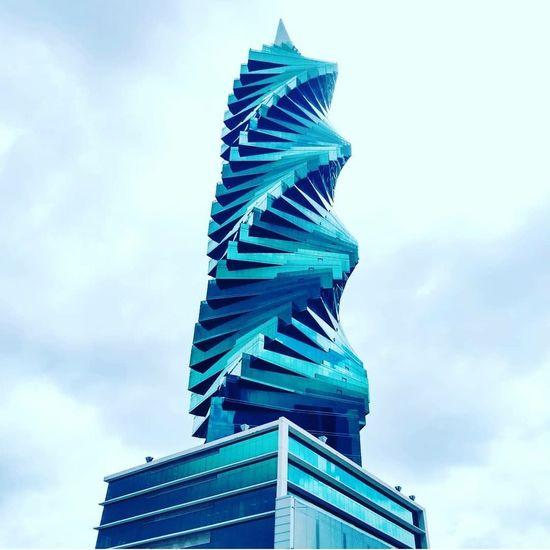 Panama City Architecture Tornillo  City Modern Skyscraper Blue Sky Architecture Building Exterior Built Structure Cloud - Sky