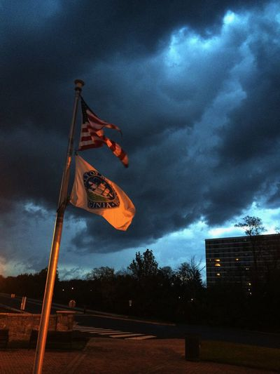 Flyin' Flags in the Storm