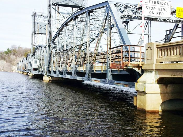 Liftbridge Flooded River High Water Level Spring Melt Waterfront Waterscape