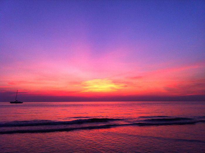 Kohchang Beach Thailand ASIA Backpacking Traveling Islandlife Island Life Is A Beach Sunset