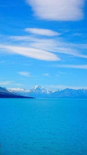Beautiful Day New Zealand Nature Mountains And Water