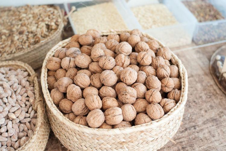 Fine walnuts at