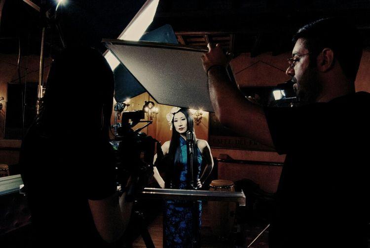 Portrait Backstage Video Shoot Espresso Atlantico