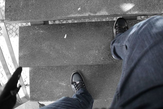 Climbing Stairs Colorsplash Shoes Black And White Eye4black&white  Arquitecture_bw Capture The Moment EyeEm Best Edits Eye4blackandwhite Eyeemphotography Black & White EyeEmbestshots EyeEmBestPics Bnw Color Splash EyeEm Bnw Minimalism Eye4photography  Blackandwhite Urban Landscape Minimalist Taking Photos Portugal