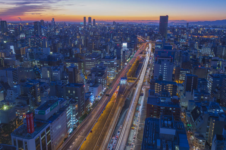 city night in japan Aerial View Architecture Building Building Exterior Built Structure City City Life Cityscape Crowd Crowded Financial District  High Angle View Illuminated Landscape Light Trail Modern Office Building Exterior Outdoors Residential District Sky Skyscraper Tall - High