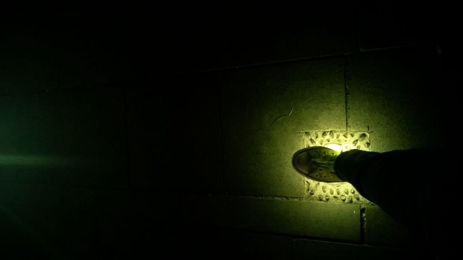 Glowing Feet Taking Photos Musem Fatahila My City Jakarta Night Shot