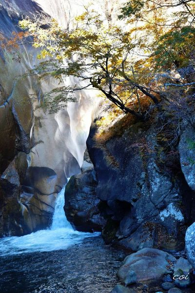 昇仙峡の秋 Beautiful Nature Landscape 昇仙峡 Emeyebestshot Autumn Colors Beautiful 絶景 虹が出たのですが上手く写らなかった。