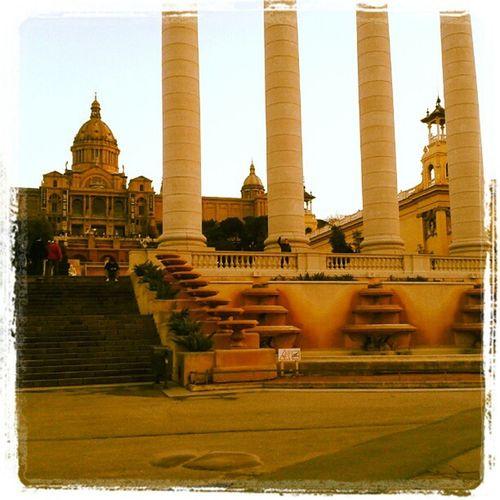 Fa temps a Barcelona Bcn MNAC 4barres