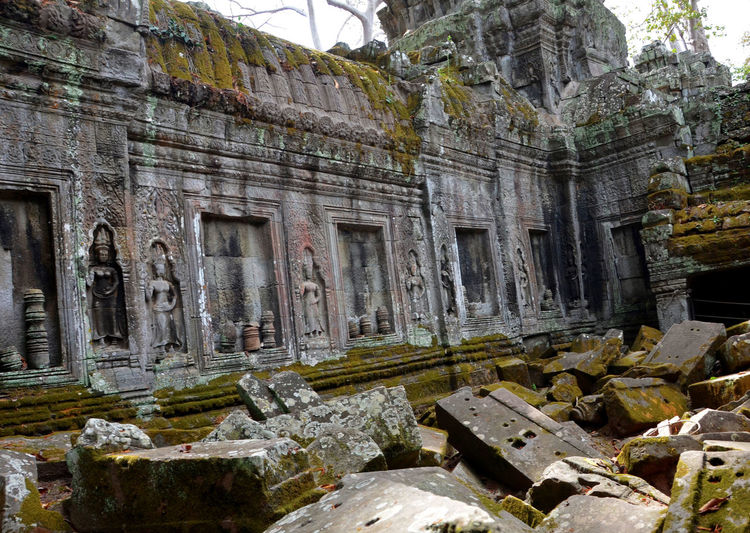 Ruins in Siem Reap, Cambodia Cambodia Siem Reap Travel Ancient Ancient Civilization Archaeology Architecture Building Exterior Built Structure Day History No People Old Ruin Outdoors Stone Material Travel Destinations